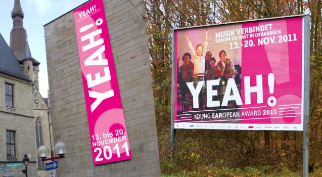 YEAH!_banner+Plakat